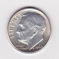 United States, 10c Roosevelt Dime, 1962-D, Denver - Émissions Fédérales