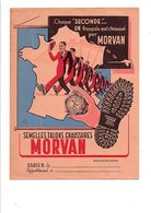 PROTEGE-CAHIER MORVAN SEMELLES TALONS CHAUSSURES - DESSIN DE LEVOIR - Copertine Di Libri