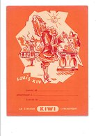 PROTEGE-CAHIER CIRAGE KIWI - LOUIS XIV - Book Covers