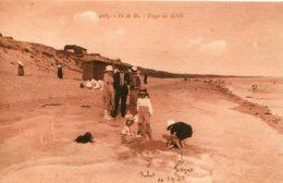 FRANCE -  ILE De RE.  Plage Du Bois - Superbly Animated View 1923 - Ile De Ré