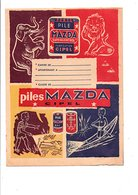 PROTEGE-CAHIER PILES MAZDA CIPEL - Book Covers