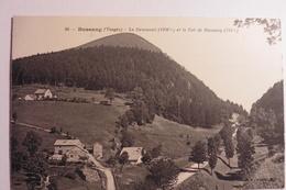 CPA - 88 - VOSGES -  BUSSANG - Le Drumont Et Le Col De Bussang. - Bussang