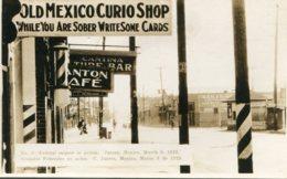 MEXICO Civil War - Feberal Snipers In Action.  Juarez March 8th 1929 RPPC - Rare - Messico