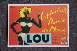 """Publicité - """" LOU """", La Plus Belle Parure Du Monde. - Reclame"""