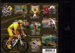 Blocs & Feuillets N° F4755 **--100 Ans Du Tour De France--2013-- Timbres N° 4755 à 4762 - Bloc De Notas & Hojas