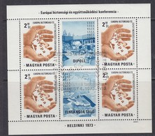 Hungary 1973 KSZE/OSCE M/s Used (42492B) - Hongarije