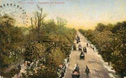 AUSTRIA - Wien Prate  Haip[tallee Und Riesenrad 1908 - Autres