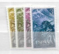 1956 MNH Spain Postfris** - 1951-60 Ungebraucht