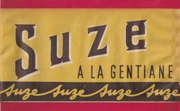 Chapeau Publicitaire En Papier  SUZE à La Gentiane. - Cappellini