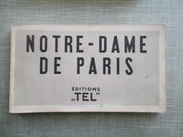 """CARNET DE 35 CPA DETACHABLES 75 PARIS NOTRE DAME EDITIONS """"TEL"""" - Notre Dame De Paris"""
