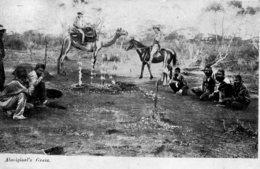 AUSTRALIA  - Aboriginal's Grave - Superbly Animated 1909 - Océanie