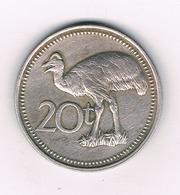 20 TOEA 1975 PAPOEA GUINEA //3570/ - Papua New Guinea
