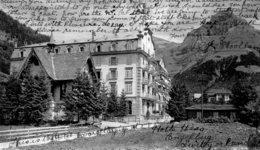 SWITZERLAND - Engelberg - Hotel Hess Und Evangelisssssche Kirche VG Postmarks 1907 - OW Obwald