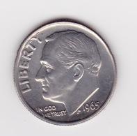 United States, 10c Roosevelt Dime, 1965, Philadelphia - Émissions Fédérales