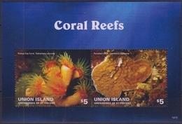 ST VINCENT (Union Island) 2013 - Faune Marine, Coraux - BF Neuf // Mnh - St.Vincent & Grenadines