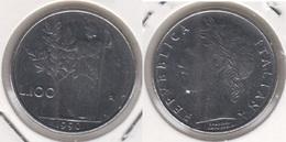 Italia 100 Lire 1990 Minerva 18,3 Mm Km#96.2 - Used - 1946-… : Repubblica