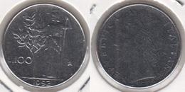 Italia 100 Lire 1992 Minerva 18,3 Mm Km#96.2 - Used - 1946-… : Repubblica