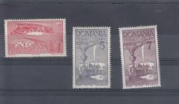 Rumänien (KK) Michel Cat.No. Mnh/** 610/612 - Neufs