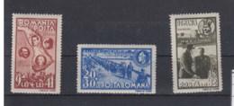 Rumänien (KK) Michel Cat.No. Mnh/** 749/751 - Neufs