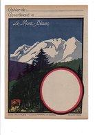PROTEGE CAHIER LE MONT BLANC SAVOIE - Book Covers