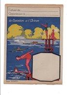 PROTEGE CAHIER LA NATATION ET L'AVIRON - Book Covers