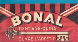 Chapeau Publicitaire En Papier  BONAL  Gentiane-quina. - Caps
