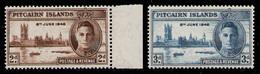 PITCAIRN ISLANDS 1946 - Set MNH** - Pitcairn