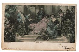 CPA - Carte Postale-Belgique-Fantaisie The  Stroefer Gravur(6) -1905-VM2505 - Peintures & Tableaux