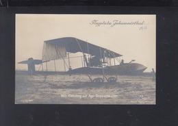 Dt. Reich AK Flugplatz Johannisthal Wilh. Kiessling Auf Ago-Doppeldecker - 1914-1918: 1a Guerra