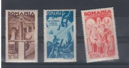 Rumänien (KK) Michel Cat.No. Mnh/** 760/762 - Neufs