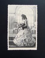 Autografo Adriana Perris Soprano Foliana Teatro Scala 1940 - Autographes