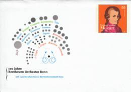 ALLEMAGNE - 2006 - Entier Postal Neuf - Mozart - Beethoven Orchester Bonn - BRD
