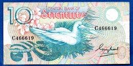 Seychelles  - 10 Rupees   -- Pick # 28 -  état  TB - Seychelles