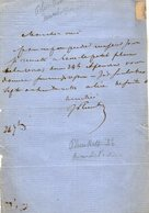 VP14.831 - PARIS - Théatre Du Palais - Royal - LAS - Lettre Autographe Mr Francis De PLUNKETT - Autographes