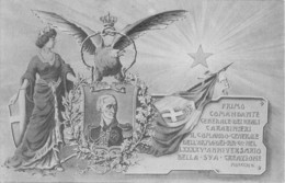 """0431 """" I COMANDANTE GENERALE DELL'ARMA DEI CARABINIERI (GEN. THAON DI REVEL DI SANT'ANDREA)"""" CART. ORIG. NON SPED. - Militari"""
