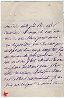 VP14.832 - Musique - LAS - Lettre Autographe Mme Lucie LAUGIER - Autographes