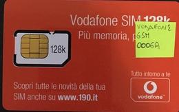 Paco \ ITALIA \ Vodafone \ IT-VOD-GSM-0006A \ Vodafone SIM 128K - Scopri Le Novità... (190.it) - Italia