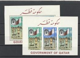 EX-19-05-23 SCOUTS. BL 9 A+B. MNH **. - Qatar