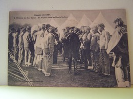 """MILITARIA. GUERRE DE 1914. A L'HOPITAL DE NEW-FOREST. SA MAJESTE VISITE LES BLESSES INDIENS.   100_7617""""b"""" - Autres"""