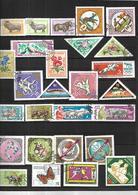 Collection Du Monde Dont Indochine ,Polynésie , Japon , Mongolie,Indonésie, Iran, Israël,, Océanie, Wallis  Canada  Ita - Timbres