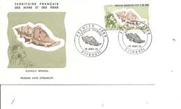 Coquillages -Ranella Spinosa (  FDC Des Afars Et Issas De 1975 à Voir) - Conchas