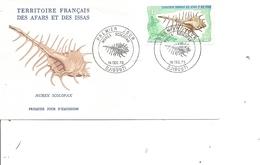 Coquillages - Murex Scolopax (  FDC Des Afars Et Issas De 1975 à Voir) - Conchas