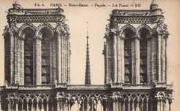 Dep 75 , Lot De 2 Cpa PARIS , 5EB , Notre Dame  ; 43EB , Notre Dame  (D09.5293 à 5296) - Notre Dame De Paris