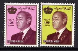 MAROC - 964/965** - S.M. LE ROI HASSAN II - Maroc (1956-...)