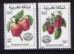 MAROC - T69/70** - FRUITS - Maroc (1956-...)