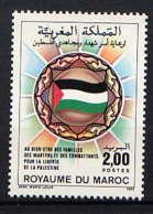 MAROC - 995** - SOLIDARITE AVEC LE PEUPLE PALESTINIEN - Maroc (1956-...)