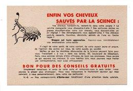 """PUBLICITÉ . """" ENFIN VOS CHEVEUX SAUVÉS PAR LA SCIENCE """" . LABORATOIRES DONNET - Réf. N°21705 - - Perfume & Beauty"""