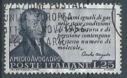 1956 ITALIA USATO AVOGADRO - ED13 - 1946-.. République