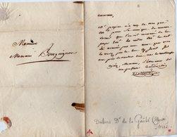 VP14.834 - PARIS - LAS - Lettre Autographe Mr DUBOIS Directeur Du Théatre De La Gaîté à Mr BOURGUIGNON - Autographes