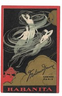 "CARTA PROFUMATA ""HABANITA""MOLINARD JEUNE GRASSE(A.M.)   -2-0882-28923 - Parfumkaarten"